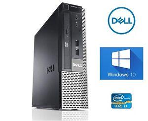 Fast-Dell-Optiplex-790-USFF-Intel-Core-i3-4GB-320GB-Windows-10-PC-Desktop