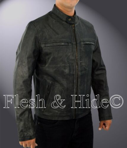 Jacket Racer Leather Aaron Cafe Genuine Cowhide Taylor Johnson Godzilla qRSOP7