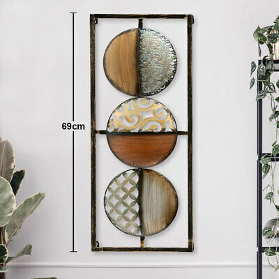 Design Wand Kunst Bild Objekt Arbeits Zimmer Büro Dekoration Kreis Muster Form