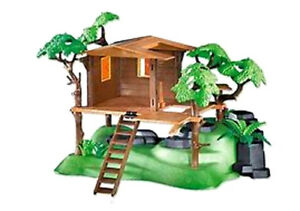 Playmobil® Western 7937    Trapper Jungle Wild Life Des conditions optimales!  baumhaus