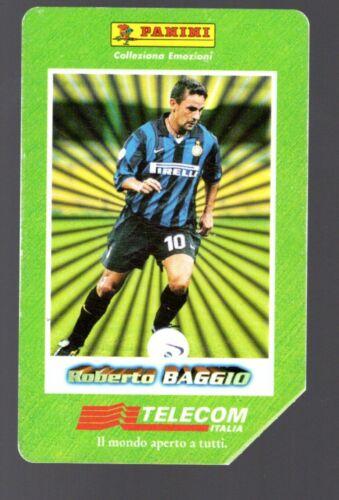 Scheda Telefonica Usata 1998-99 ROBERTO BAGGIO