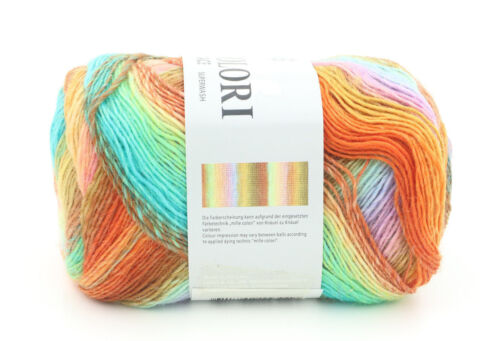 One Skein of Lang Yarns Mille Colori Socks /& Lace