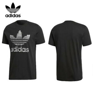 Adidas-Men-039-s-Original-Short-Sleeve-Trefoil-Traction-Trefoil-T-Shirt