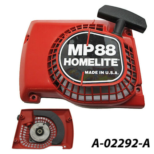 LANCEUR demarreur HOMELITE MP88 MP 88 Chainsaw Starter Rewind Recoil USA