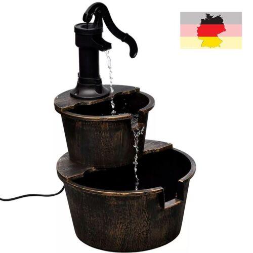 Kaskadenbrunnen Gartenbrunnen Etagenbrunnen Handwasserpumpe Design Haus Dekor