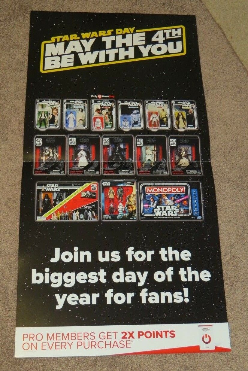 STAR WARS DAY 2017  GAME STOP