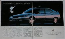Advert Pubblicità 1990 CITROEN XM TURBO D 12 VALVOLE