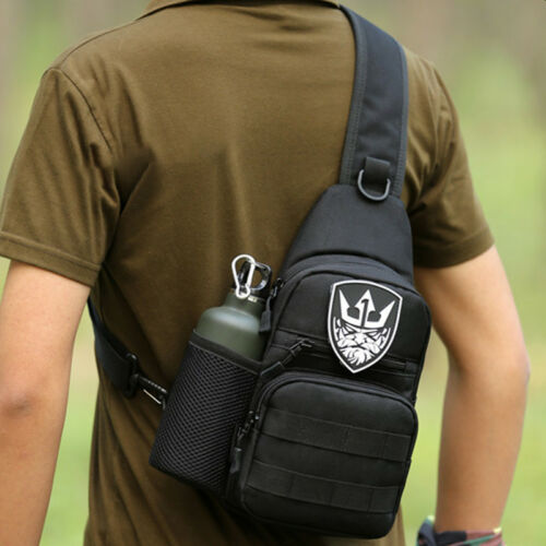 Mens Sling Bags Chest Pack Travel Backpack Messenger Shoulder Cross Body Hiking