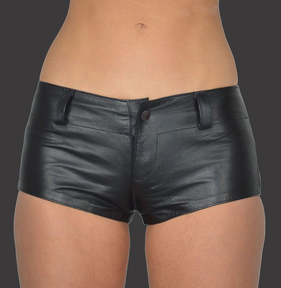 Aw-162 Femmes Hot Pants, Hanche Pantalon Cuir Shorts, Mini Shorts, Cuir Shorts, Pantalon Court-ni Shorts,leder Shorts,kurze Hose Fr-frafficher Le Titre D'origine