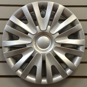 NEW-VW-2010-2014-Volkswagon-Golf-15-034-Silver-Hubcap-Wheelcover-Replacement