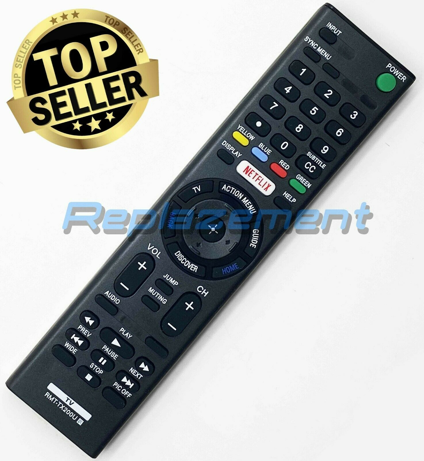 Original SONY RMT-CX200iP Replacement Remote Control for RDP-X200IP