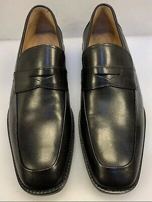 242717 PFi60 Men/'s Shoes Size 13 M Black Leather Made in Italy Johnston Murphy