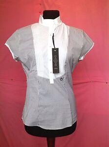 Camicia-da-donna-della-CAVALLERIA-TOSCANA-molto-elegante-tessuto-a-Riga