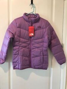 6390d63d1 Details about The North Face Girls Andes 550 Down Fill Jacket XLARGE Purple  MSRP:$99.00