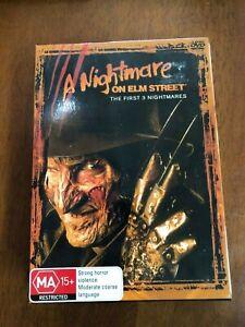 DVD-A-NIGHTMARE-ON-ELM-STREET-FIRST-3-NIGHTMARES-BOXED-REGION-4-PAL