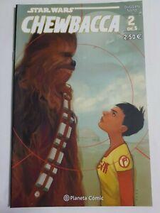 Fringant Star Wars Chewbacca Nº 2 De 5 Estado Nuevo Planeta Comic Mire Mas Articulos Pure Blancheur