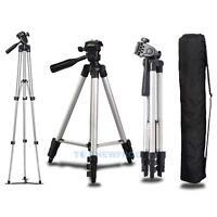 WT-3110A Camera Tripod With 3-Way Head Tripod Stand & Bag For Canon Nikon Camera