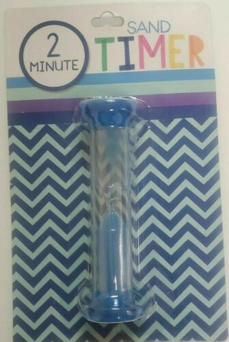 New! 2 Minute Game Toy Sand Cooking Timer Blue Games School, Cooking