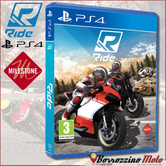 NUOVO GIOCO HD ORIGINALE RIDE PS4 PLAYSTATION SONY MOTO SIMULAZIONE TIPO MOTOGP