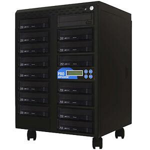 ProDuplica-tor-1-15-Blu-ray-Burner-Duplicator-BD-MDisc-CD-DVD-Replicatio-n-Tower