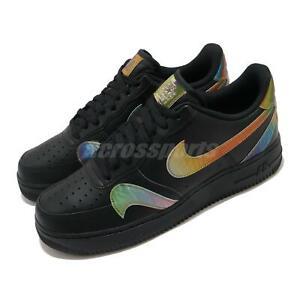 Mutuo local Cuyo  Nike Air Force 1 07 LV8 Negro extraviados Swoosh Multi Hombre Informal  Zapatos CK7214-001 | eBay