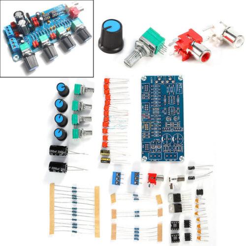 Ne5532 HiFi OP-AMP Preamplifier Amplifier Volume Tone EQ Control Board DIY Kits
