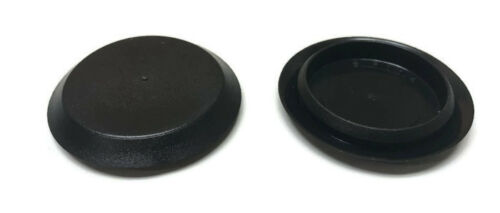 1-1//4 Inch Black Plastic FLUSH MOUNT HOLE PLUG 4 Sheet Metal Auto Body Panel