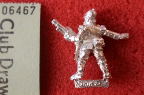 Games Workshop Warhammer 40k prétorienne Trooper Lasgun Metal Figure WH40K Épuisé K