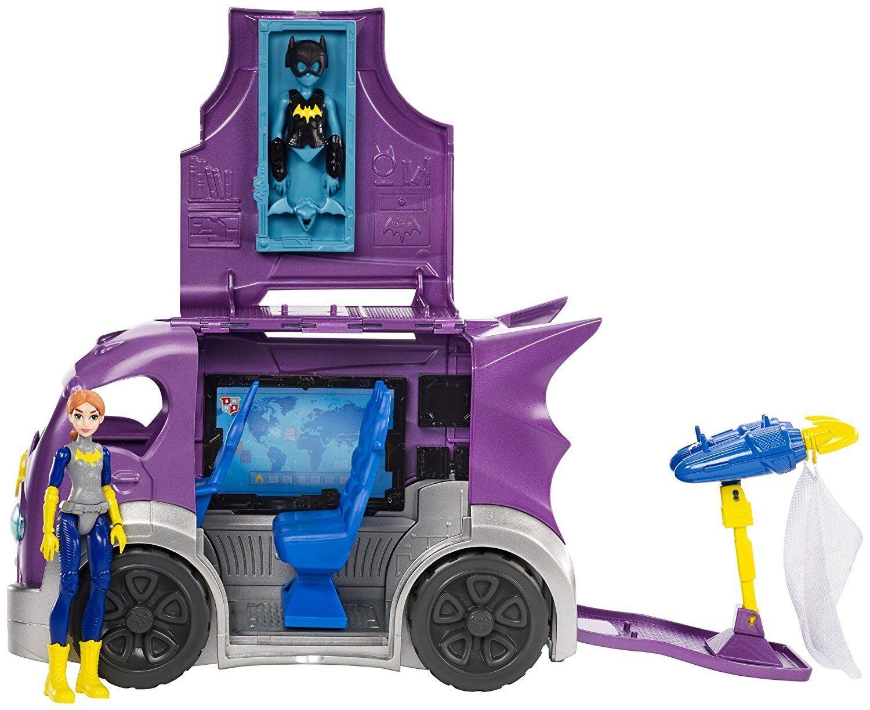 DC SUPER HERO GIRLS BATGIRL & MISSION VEHICLE - BNIB