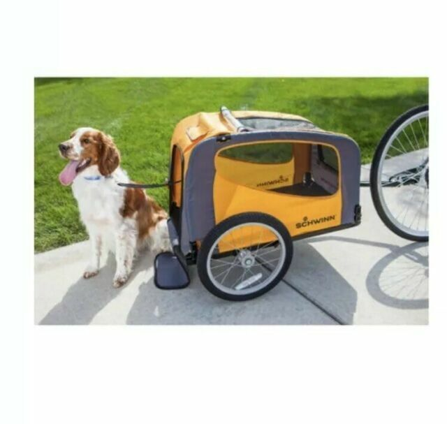 Schwinn Rascal Pet Trailer Orange//Grey