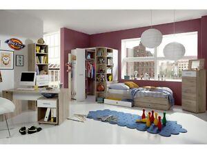jugendzimmer joker 8tlg san remo begehbarer. Black Bedroom Furniture Sets. Home Design Ideas