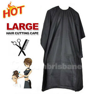 Details about AU Hair Cut Cape Pro Salon Styling Cutting Hair Barber  Hairdressing Gown Cloth