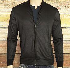 John Varvatos Star USA LUXE Full Zip Front Jacket in Black Size Large $198.00