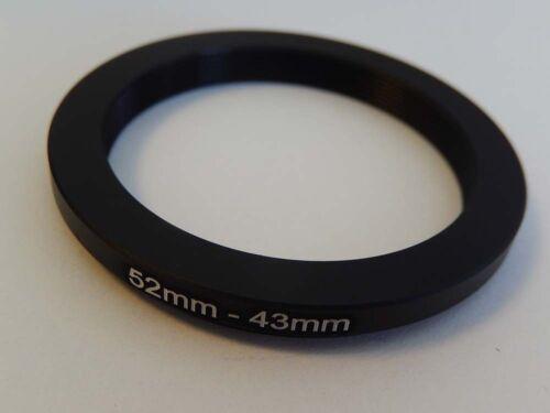 Adapterring Adapter Ring Filteradapter Step-down 52mm-43mm 52-43