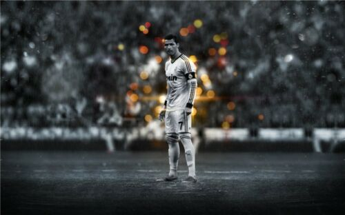Cristiano Ronaldo CR7 Football Star Art Wall Poster 40x24 inch CR20