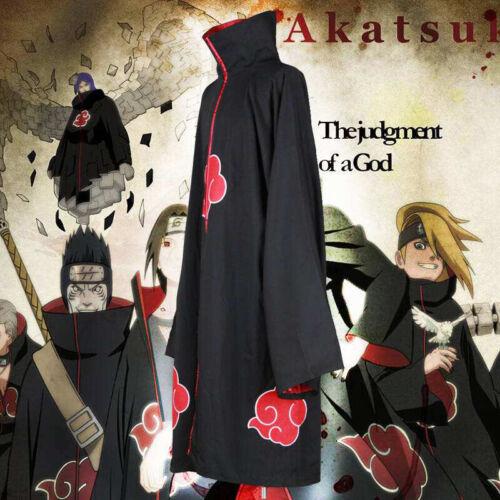 Animer Cosplay Costume Akatsuki itachi Cloak Quality Anime Convention  Tu