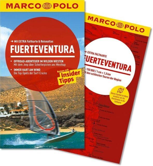 !! Fuerteventura 2014 mit Karte Reiseführer UNGELESEN Kanaren Marco Polo Spanien