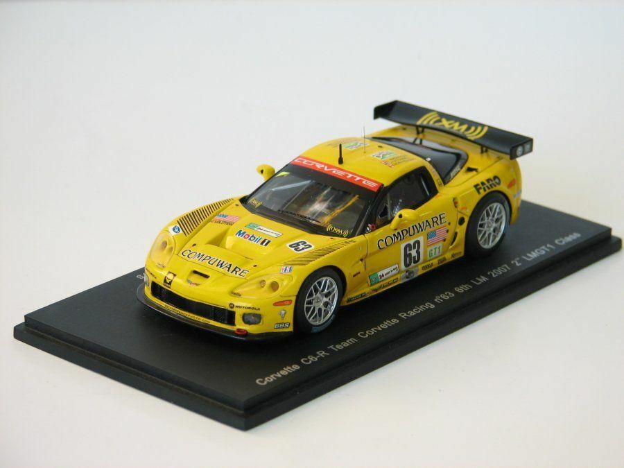 Corvette C6-R LM 2007 2nd LMGT1-Class S0178 Spark 1 43 New in a box