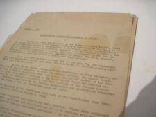 Original Potsdam Treaty August 2, 1945