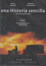 DVD - Una Historia Sencilla NEW The Straight Story Sissy Spacek FAST SHIPPING !