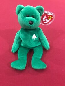 Erin The Bear TY Beanie Baby - Rare and Retired Mint W  Tags  650802458ee6