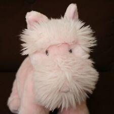 Gund Pink Schnauzer Dog Life Sinclair Breast Cancer awareness plush stuffed