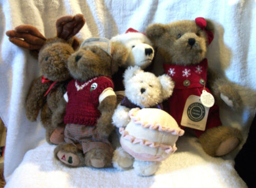 10 Boyd's Bear Plush Lot All Retired Smoke Free Home Great Condition