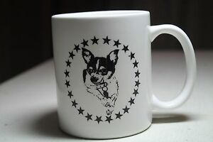 Details about LOST DOG CAFE COFFEEHOUSE Coffee mug Binghamton New York  chihuahua black white
