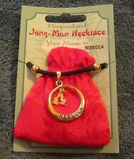 """Disney Parks House of Fortune Store China """"Rebecca"""" Name in Chinese Necklace"""