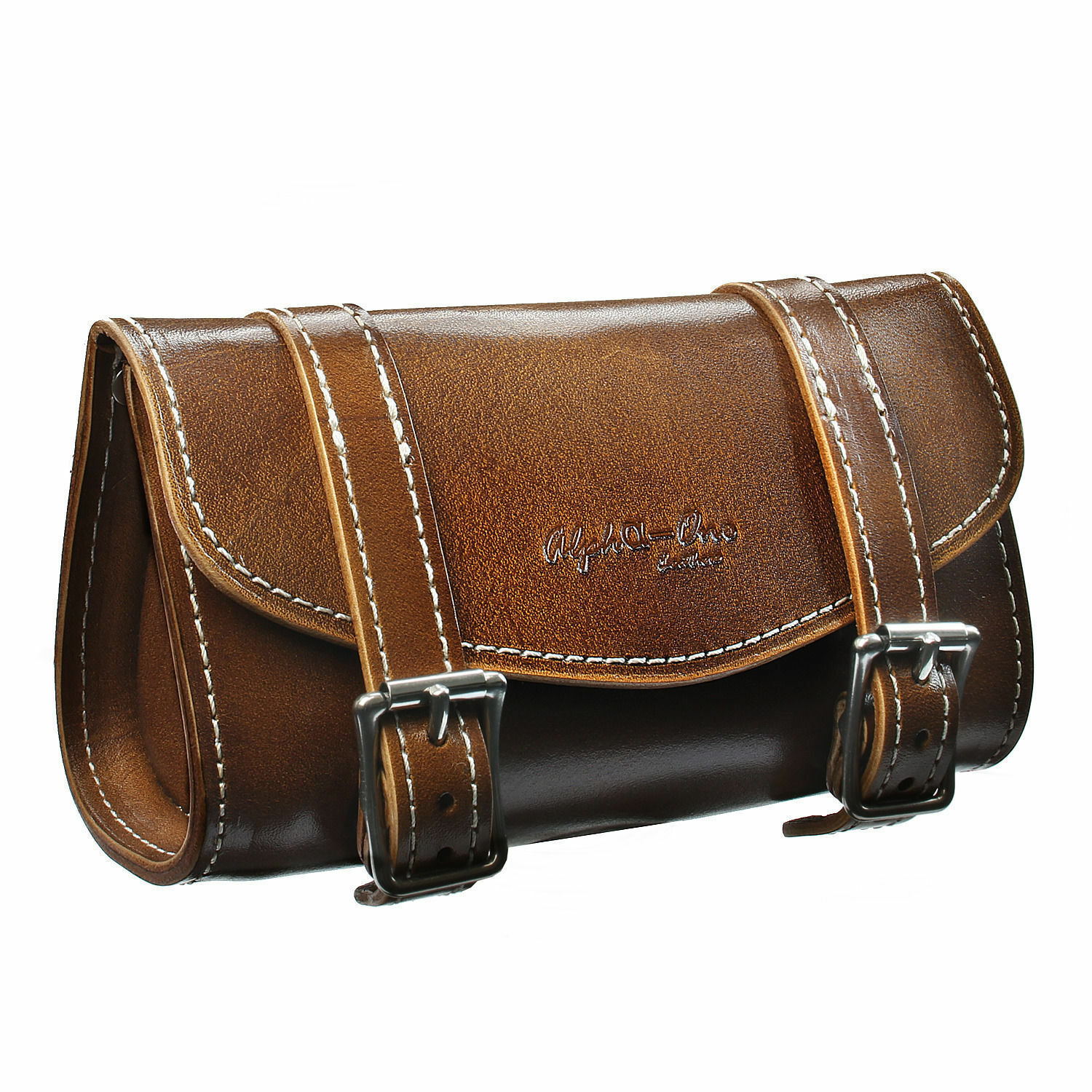 Vintage Bike Bicycle Saddle Bag Leather Great for Fixie