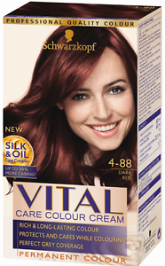 Red Hair Dye Shades Fresh Color