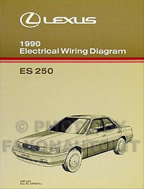 2005 Lexus Es 33es33electrical Wiring Diagram Manual FULL ...