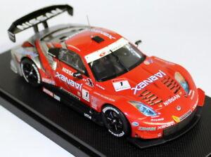 Ebbro-1-43-Scale-722-Nissan-Xanavi-Nismo-Z-Super-GT-Malyasia-Diecast-model-car