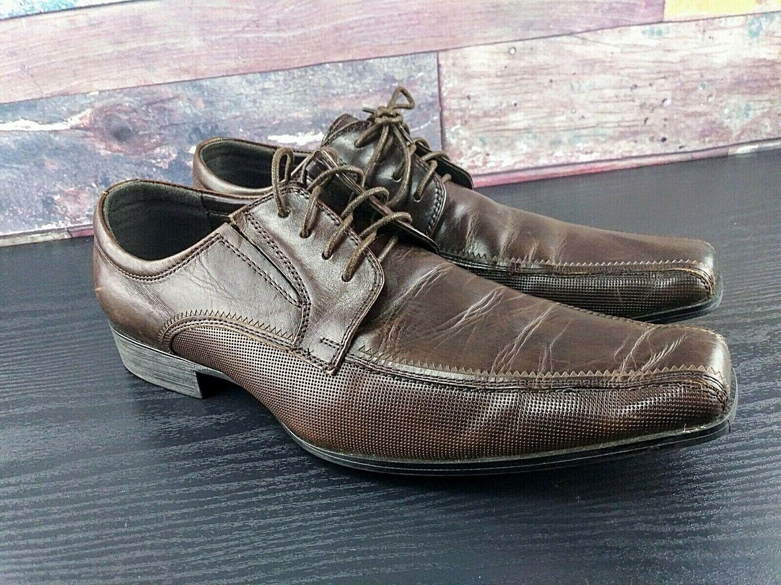 Mens Dress Shoes Kenneth Cole Reaction Size 10 M Brown Public Preview For Men